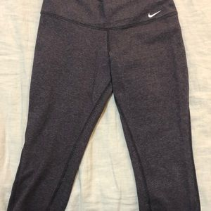 Nike Dri-Fit Purple Cropped Leggings